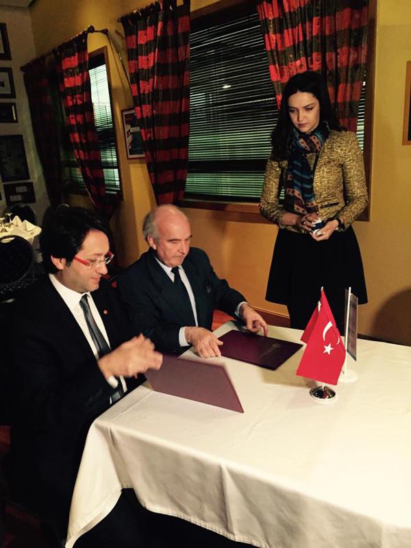 """Marrëveshje bashkëpunimi me Shoqatën Turke të Investitorëve dhe Shluj """"Universiteti Marin Barleti"""""""