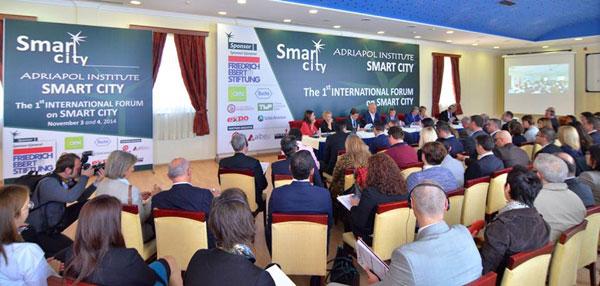 """Drejt një qyteti Inteligjent, Forumi i Parë Ndërkombëtar """"Smart City"""""""