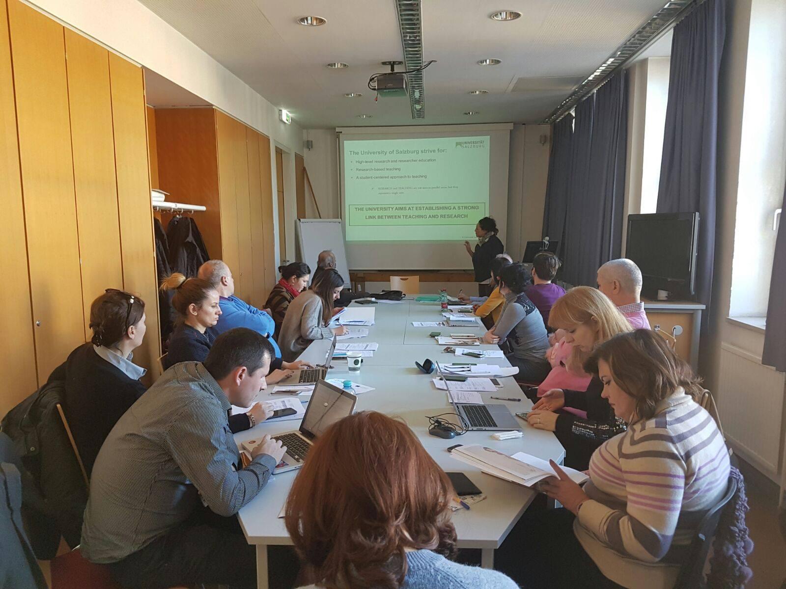 Vizitë studimore në Salzburg, Austri, 13-17 dhjetor 2016.