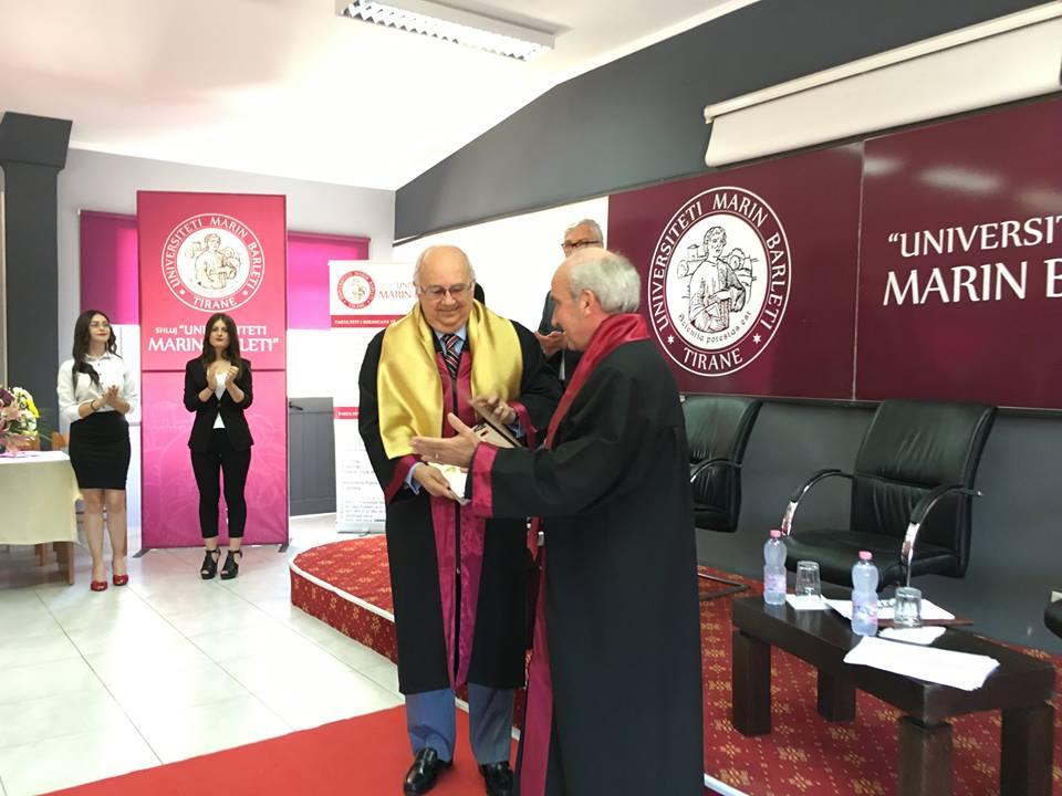 Dhënie titulli Nderi Doctor Honoris Causa Drejtorit të Bibliotekës së Aleksandrisë personalitetit të shquar Dr. Ismail SERAGELDIN