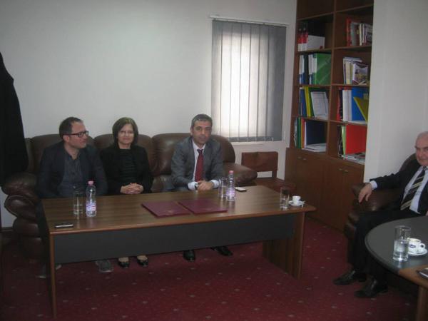 Marrëveshje bashkëpunimi midis Universitetit Marin Barleti dhe Shkollës Shqiptare të Administratës Publike