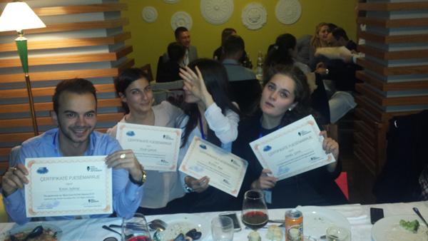 """Skuadra e UB-së kalon ne finalen e konkursit """"Gjyqi simulues i GJEDNJ – Shqipëri 2015"""""""