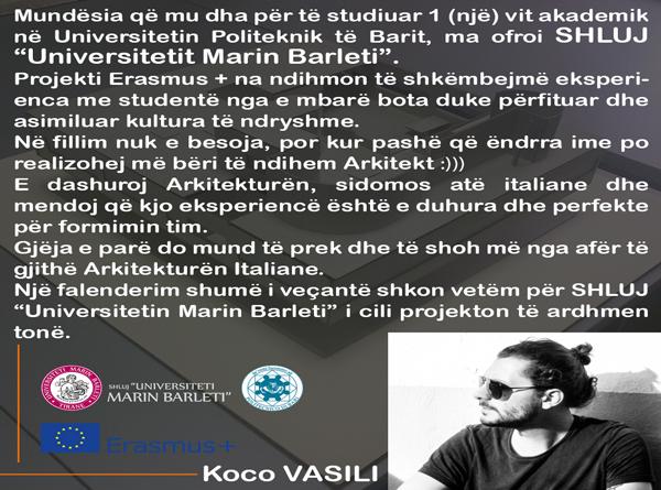 Projekti ERASMUS +