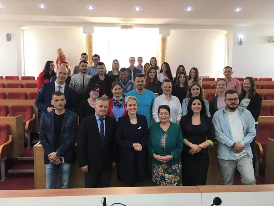 UMB, i pari institucion i arsimit të lartë shqiptar, në hapësirën shqiptare të Luginës e Preshevës, në Serbi.