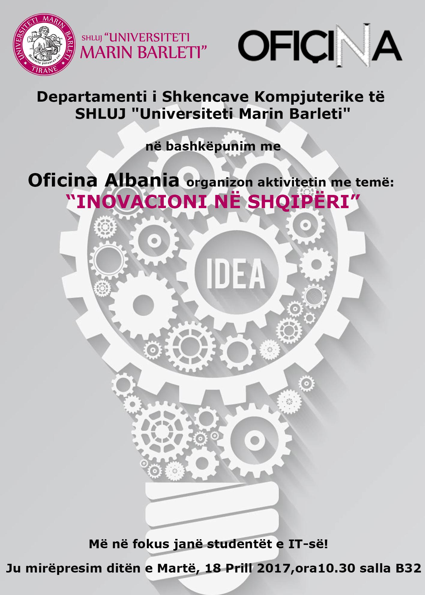 Aktivitet: Inovacioni në Shqipëri