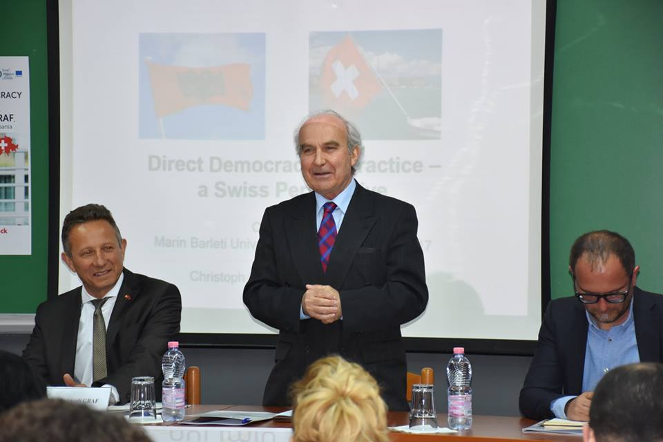 Direct Democracy in Practice – a Swiss Perspective
