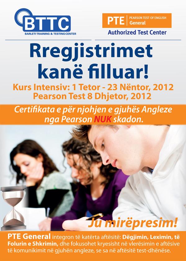 Hapen regjistrimet për kurse dhe testime të gjuhës Angleze në BTTC