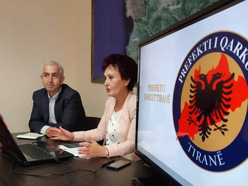 Vizitë studimore në Prefekturën e Qarkut Tiranë
