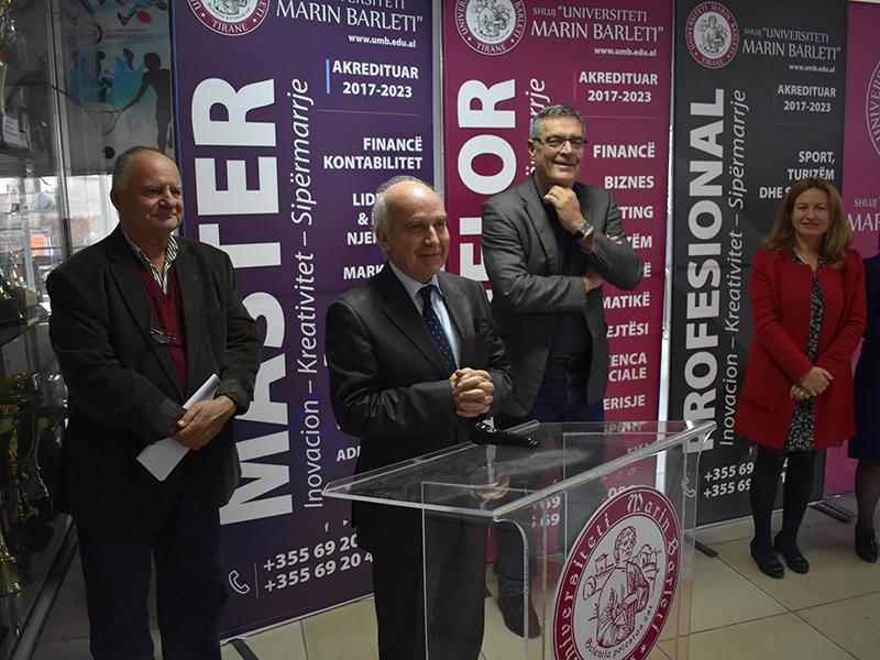 """Në universitetin """"Barleti"""" filluan programe master 2019 - 2020"""
