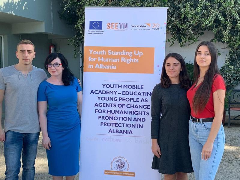 Lancimi i Akademisë Rinore mbi të Drejtat e Njeriut