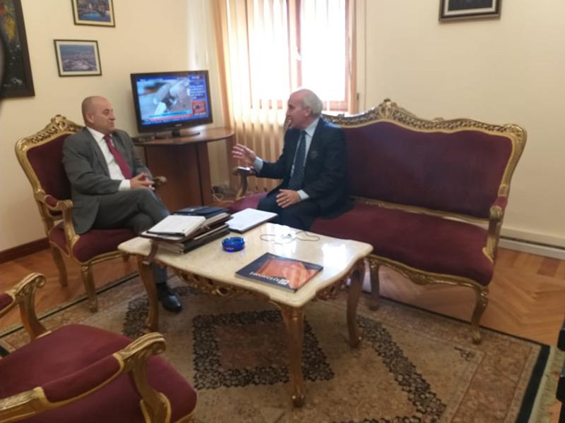 Takim në kryesinë e kuvendit të shqipërisë