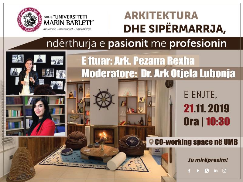 Arkitektura dhe Sipërmarrja, nderthurja e pasionit me profesionin