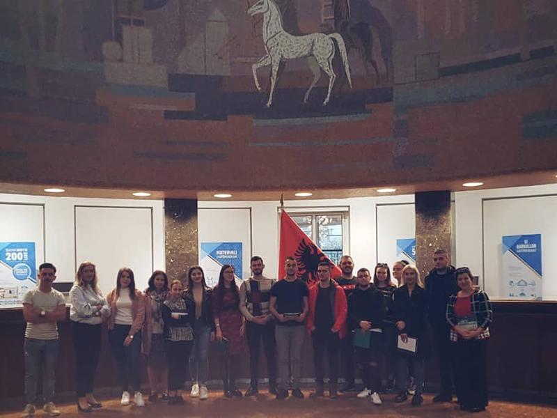 Vizitë studimore në Bankën e Shqipërisë!
