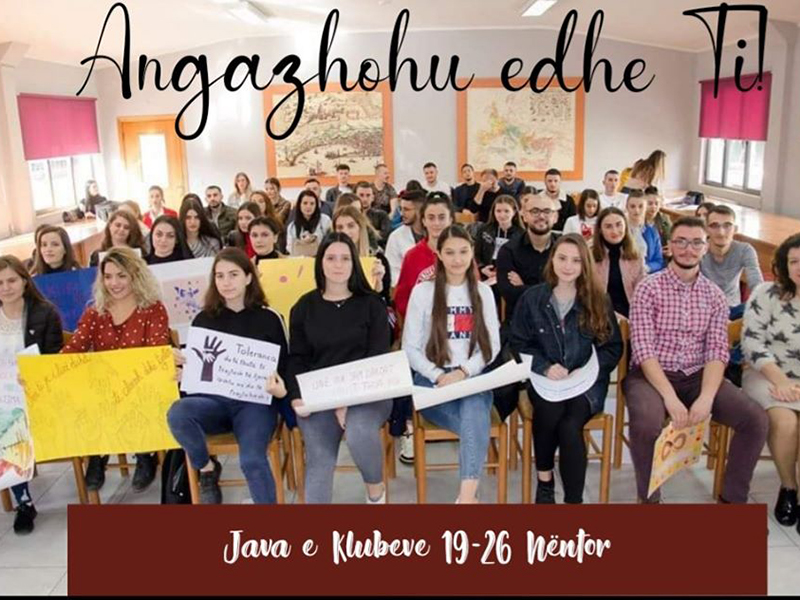 Java e klubeve studentore 16-26 Nëntor