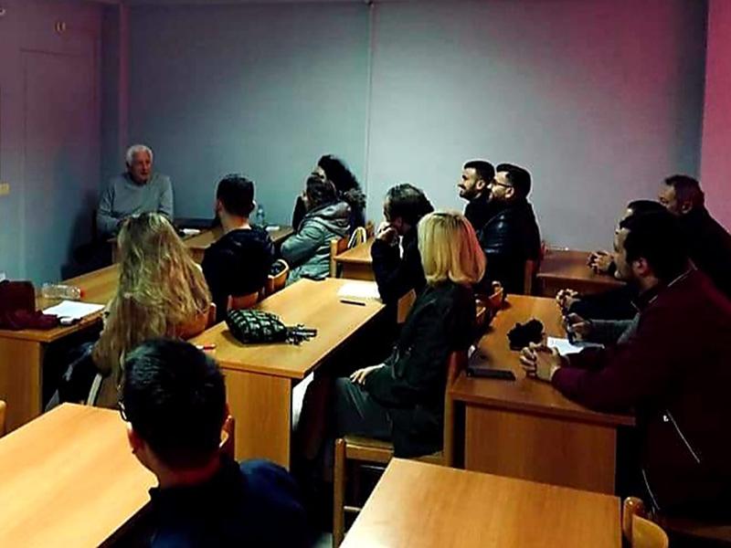 Dita e tretë e trajnimit të Udhërrëfyesit Turistik u drejtua Prof. Neritan Ceka