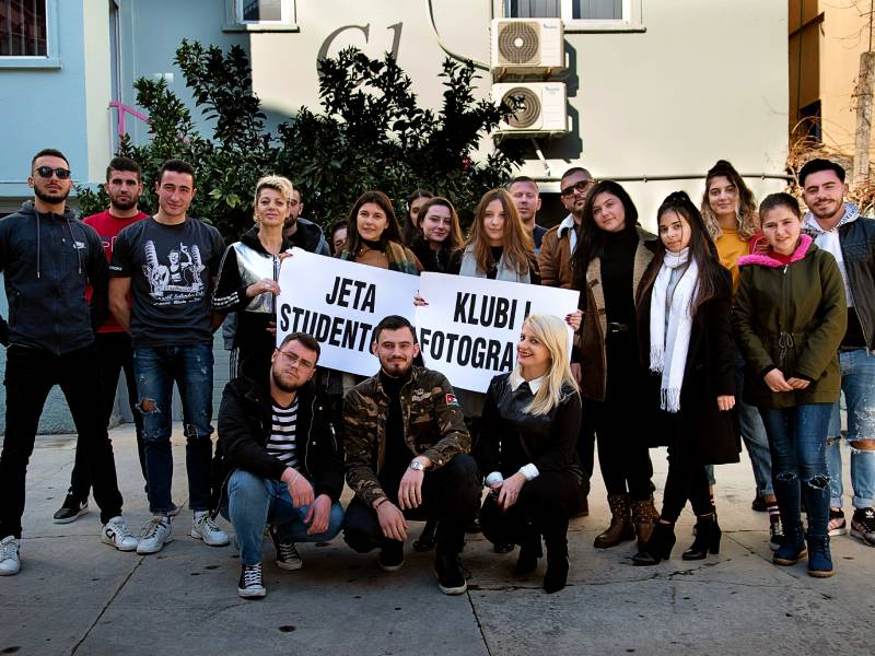 Klubi i Fotografisë në Universitetin Marin Barleti