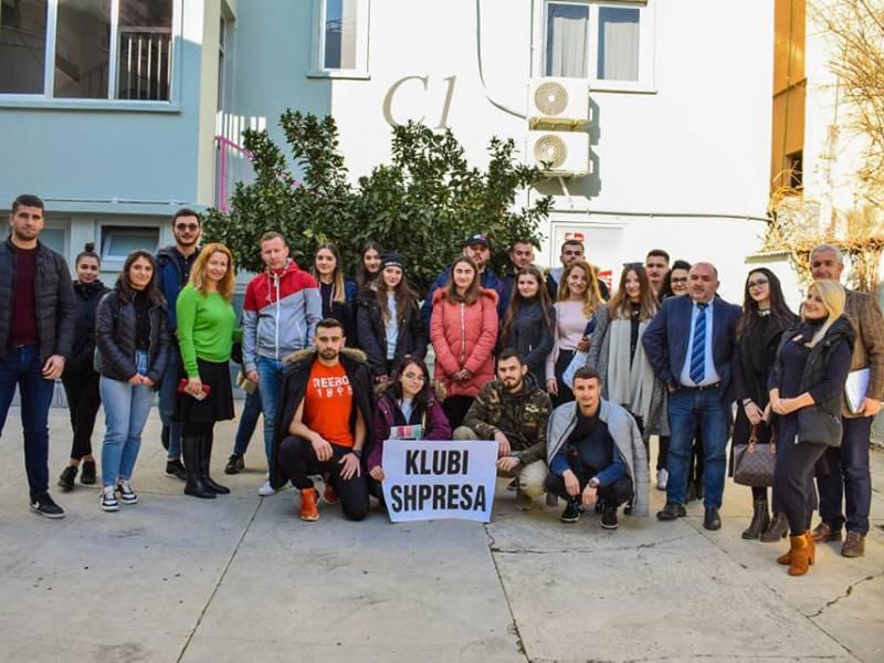 Klubi i Vullnetarëve në Universitetin Marin Barleti!