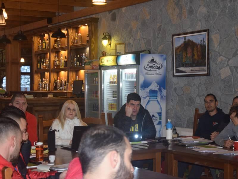 Dita e tretë e trajnimit për udhërrëfyesit e turizmit të aventurës