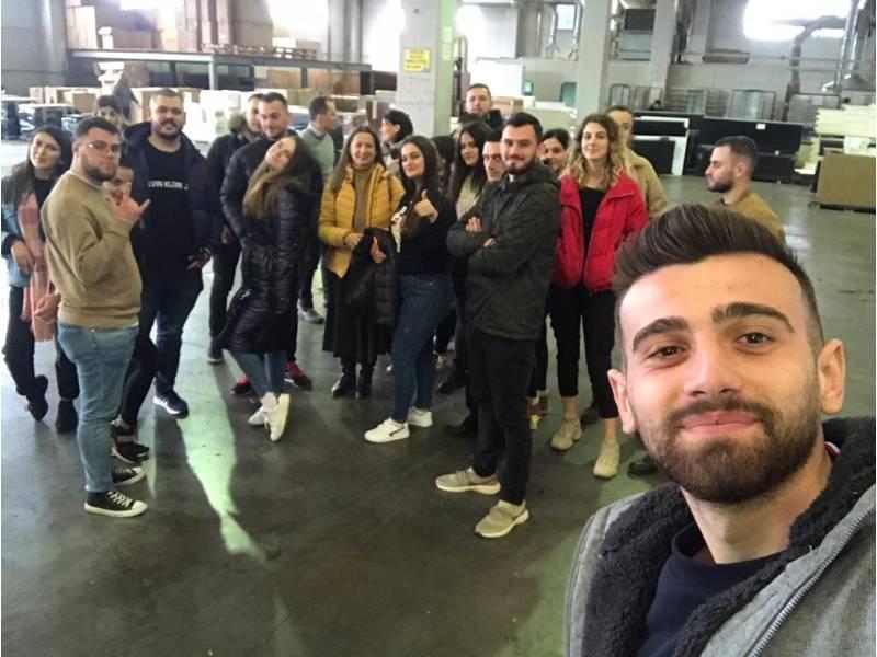 """Vizitë Studimore pranë kompanisë """"fpm - Tutti mobile"""", Tiranë"""