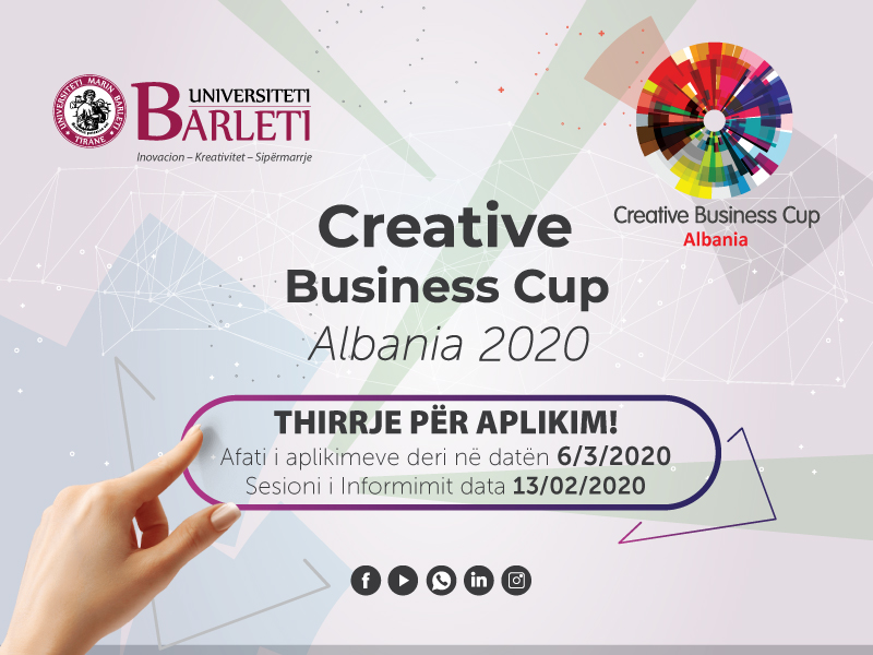 Creative Business Cup Albania 2020