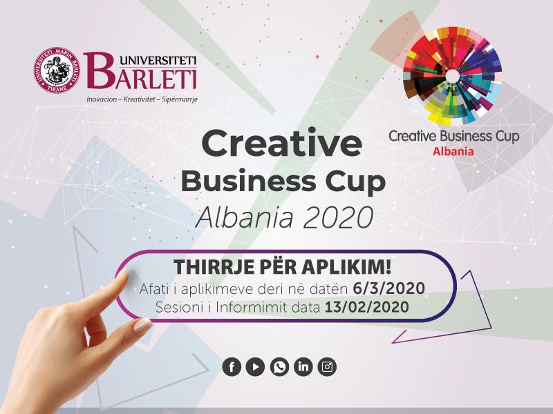 Creative Business Cup Albania 2020