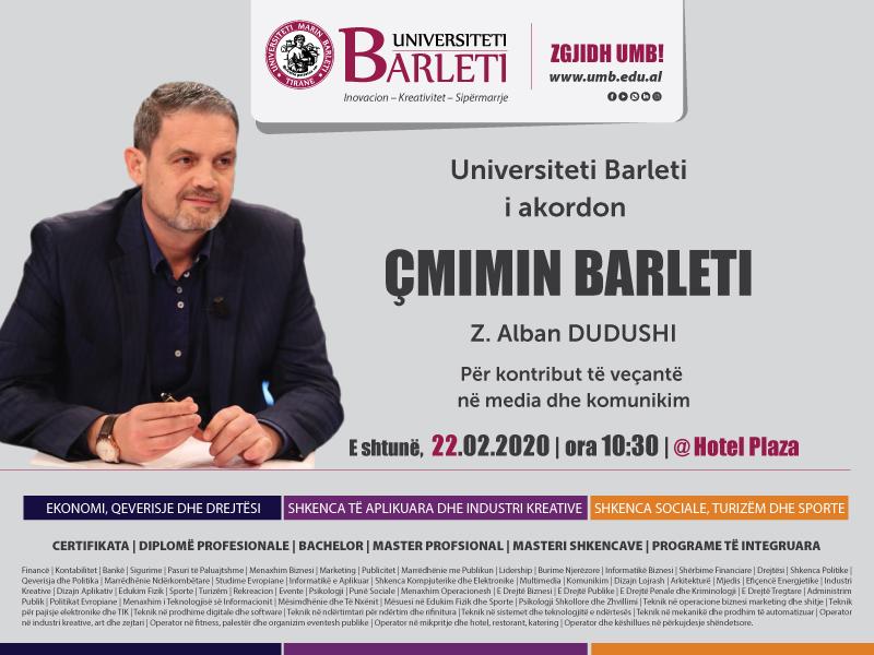 ÇMIMI BARLETI Z.Alban Dudushi