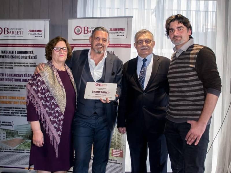 Alban Dudushi çmimin Barleti