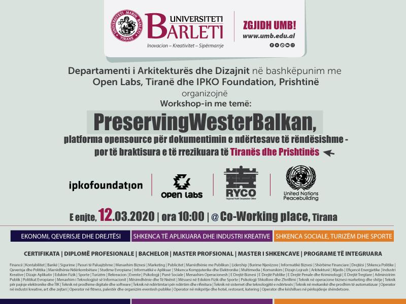 Preserving Western Balkans