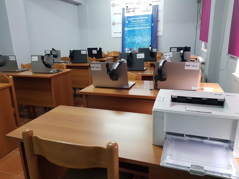 Qendra e Trajnimit për Fëmijët me Nevoja të Veçanta.