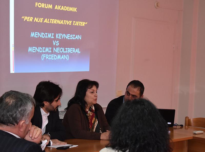 """Forum im Akademik """"Për një alternativë tjetër"""""""