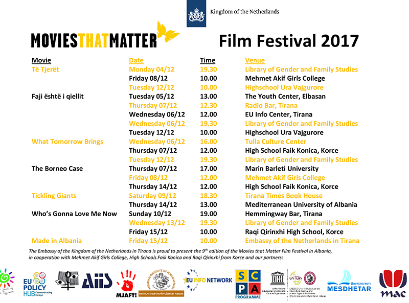 Movies that Matter Film Festival 2017