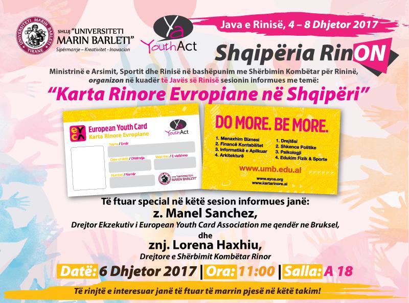 Java e Rinisë, 4 – 8 Dhjetor 2017