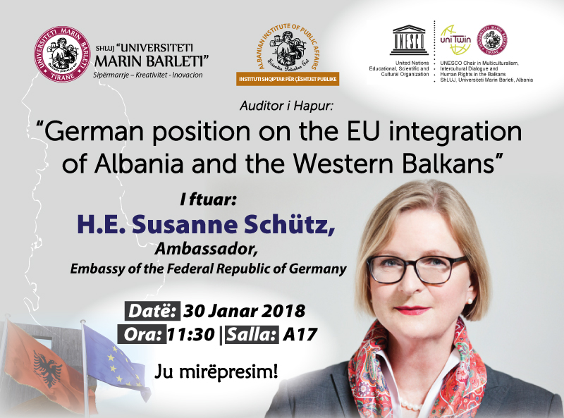German position on the EU integration of Albania and the Western Balkans