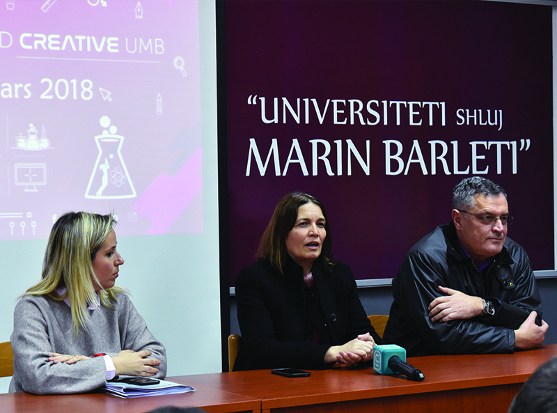 Fundjava e Tekno-Kreativitetit në Universitetin Marin Barleti