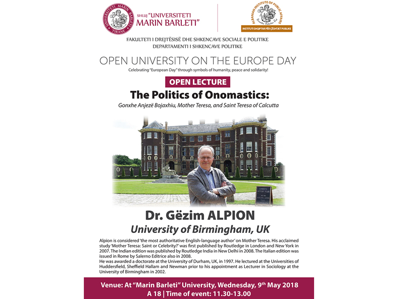 Dita Evropiane në UMB
