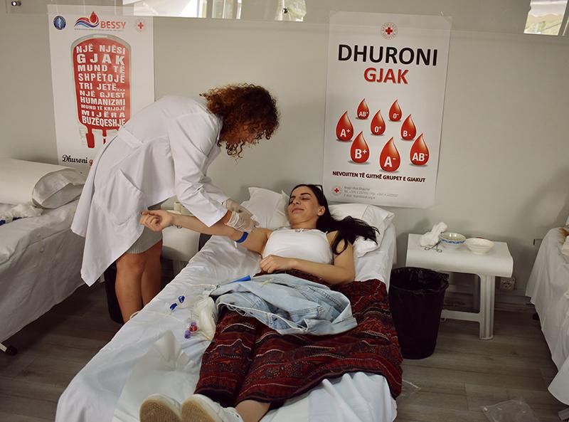 Fushatë sensibilizuese për dhurimin e gjakut