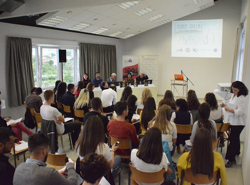 "Konferencë studentore ""Problems, Challenges, and Innovations of Economic Growth and Welfare Improvement in Albania"""