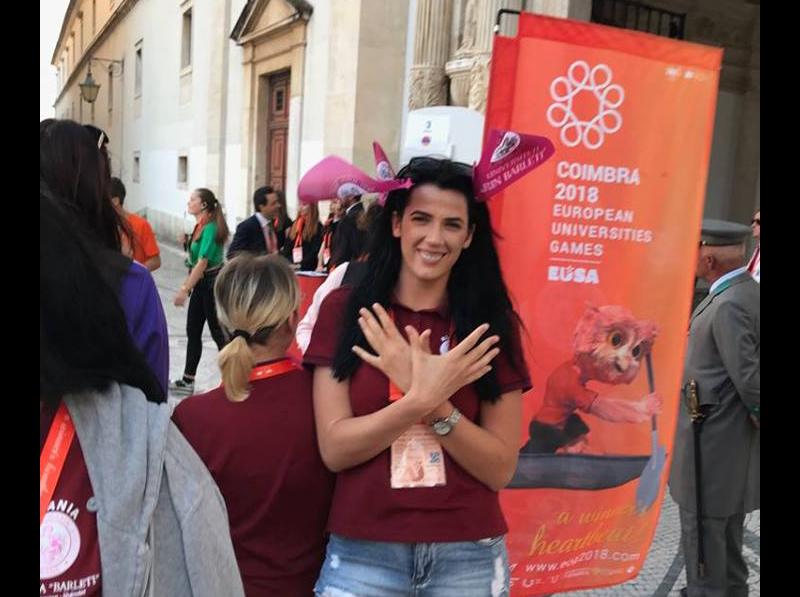 European Universities Games Coimbra 2018 / Lojërat e Sportit të Universiteteve Evropiane në Coimbra 2018