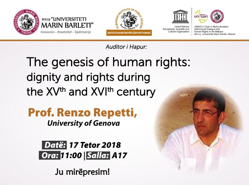 Leksion i hapur me teme: Origjina e të drejtave të njeriut