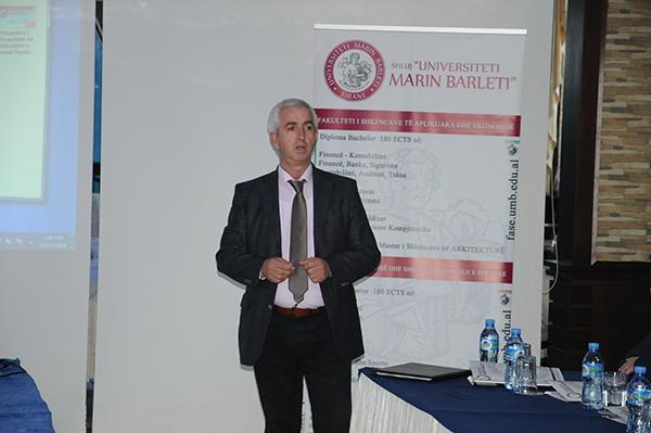 """SHLUJ """"Universiteti Marin Barleti"""" dhe komuniteti"""