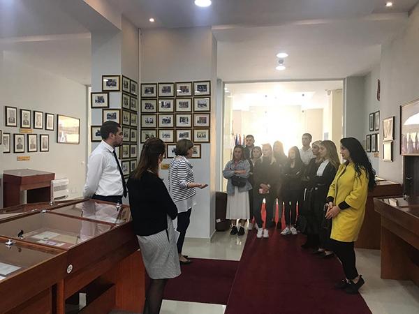 Vizitë studimore në Kontrollin e Lartë të Shtetit, datë 13 nëntor 2018