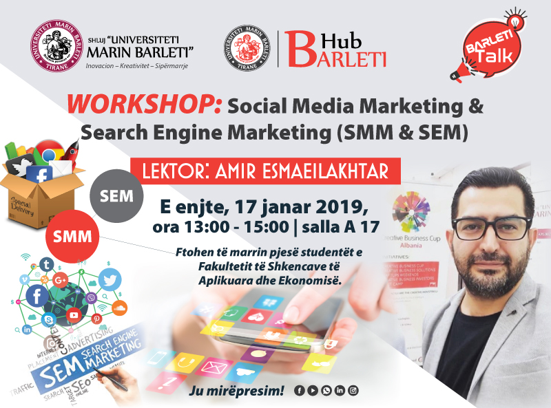 WORKSHOP: Social Media Marketing & Search Engine Marketing (SMM & SEM)