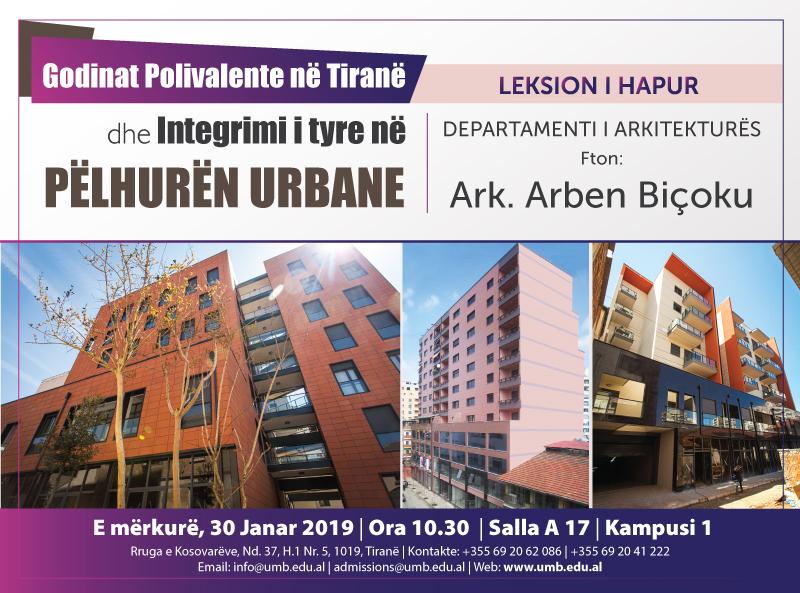 Godina Polivalente në Tiranë dhe Integrimi i tyre në pëlhurën urbane