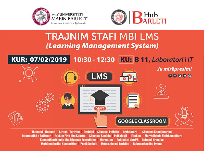 LMS SYSTEM | Trajnim 1 për stafin e UMB