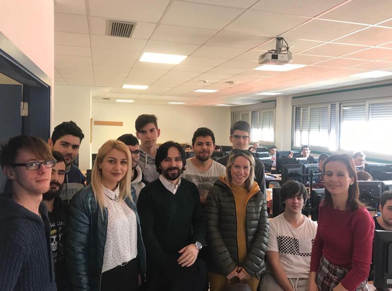 """ERASMUS+ , mobiliteti i stafit akademik të SHLUJ """"Universitetit Marin Barleti"""""""