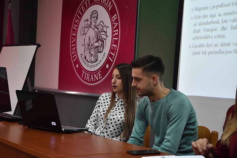 """Konferenca studentore """"Fenomeni i Emigrimit në Rajon: Perceptim Studentor"""""""