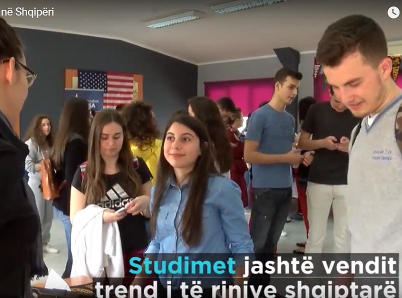 Panairi i kolegjeve amerikane në Shqipëri