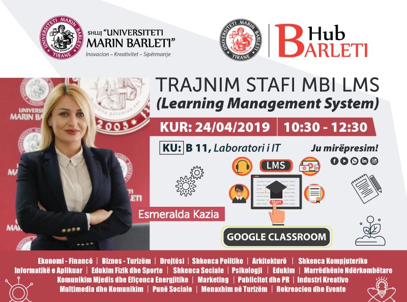 Trajnim stafit të UMB mbi LMS