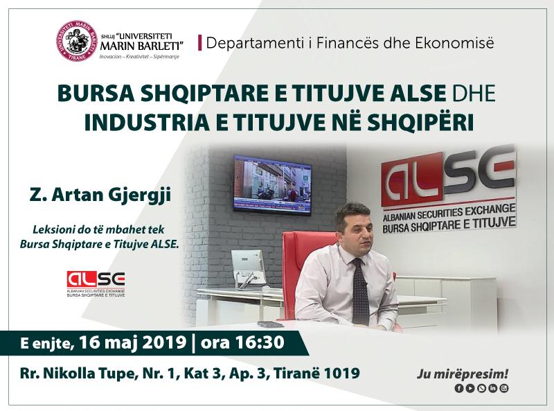 Bursa Shqiptare e titujve ALSE dhe industria e titujve në Shqipëri