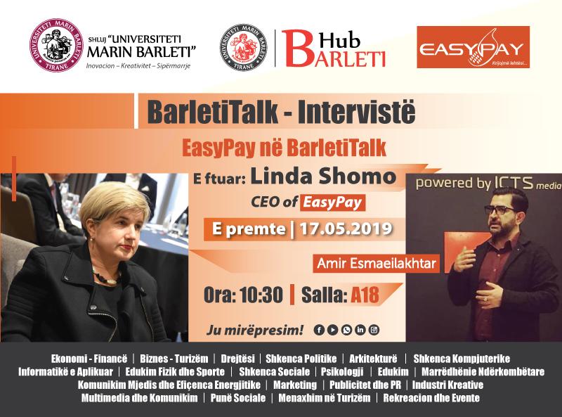 EasyPay vjen në Barleti Talk